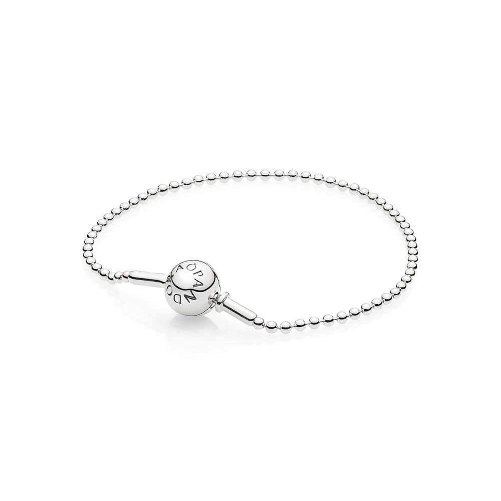 Pandora Soldes Essence Collection Beaded Bracelet En Sterling Argent