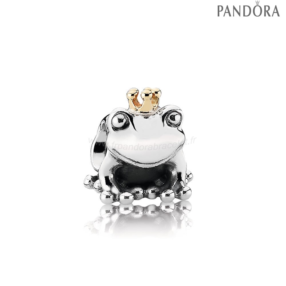 Pandora Soldes Charm Prince Grenouille