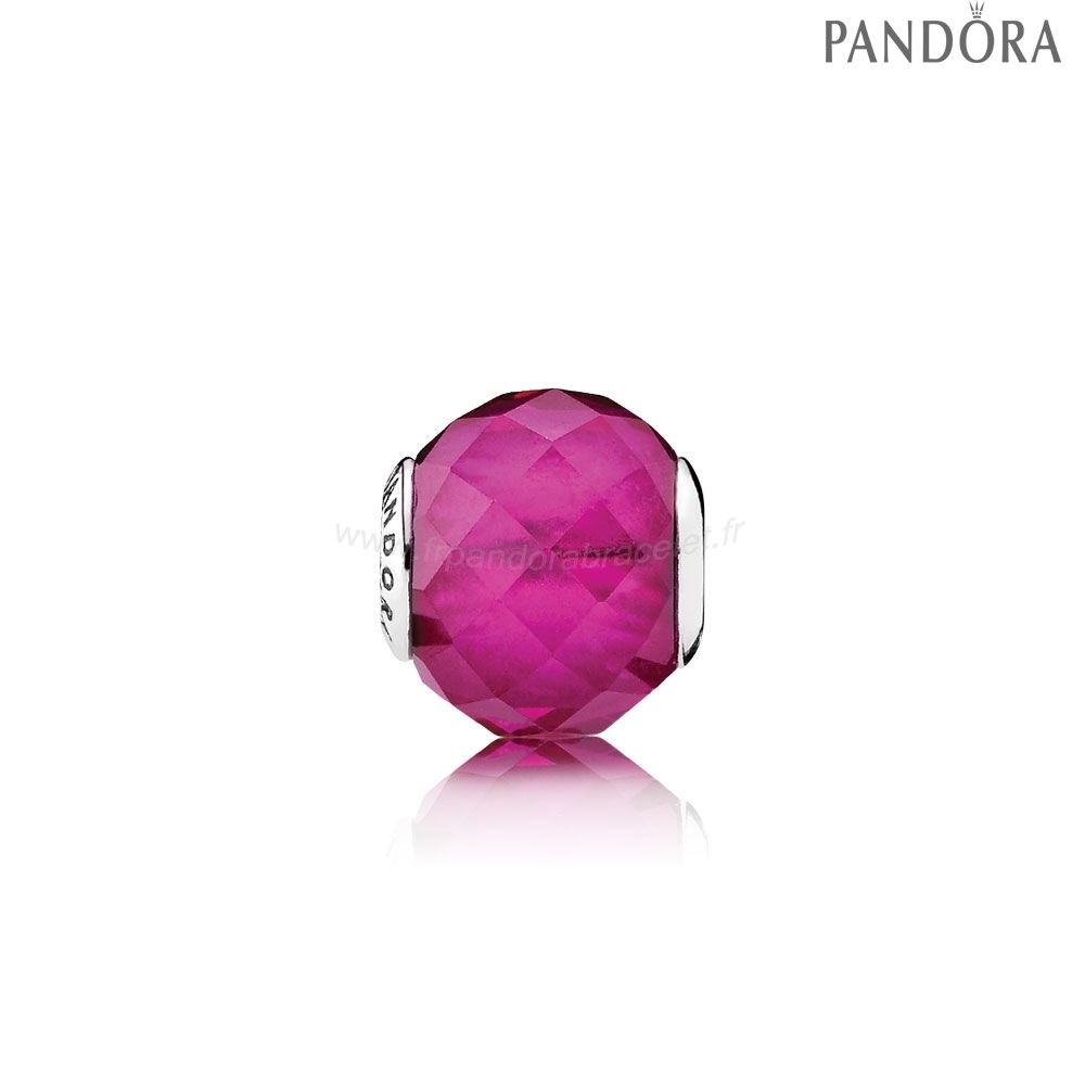 Pandora Soldes Essence Happiness Charme Synthetique Rubis