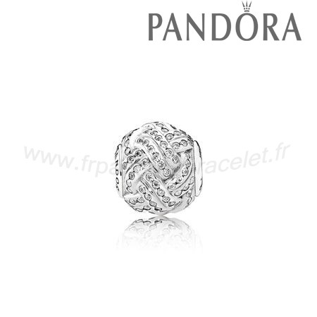 Pandora Soldes Essence Relation Amicale Charme Clear Cz