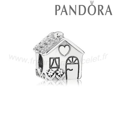 Pandora Soldes Famille Charms Accueil Sweet Home Charm