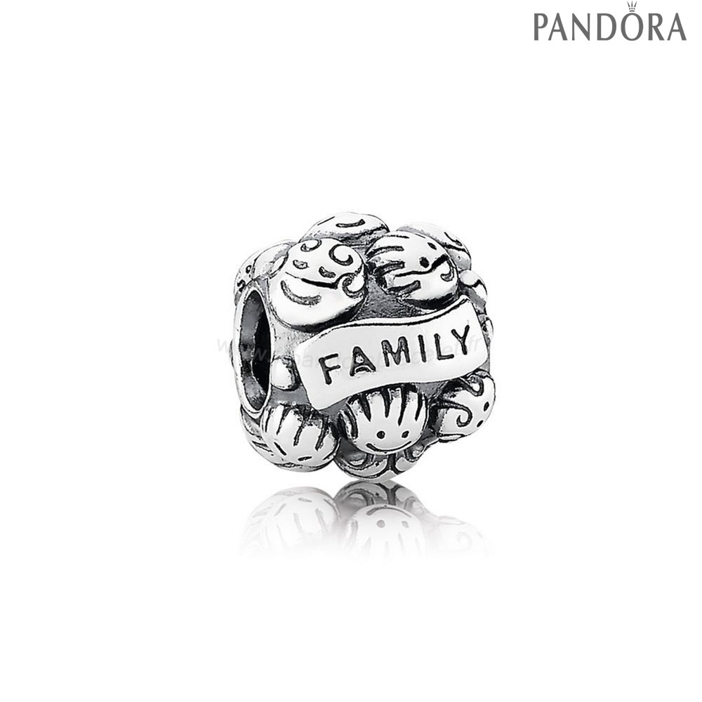 Pandora Soldes Famille Charms Amour Famille Charm