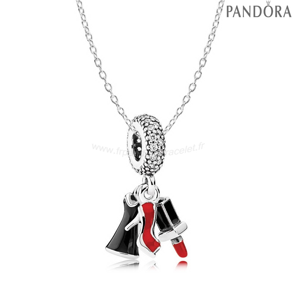 Pandora Soldes Filles Night Out Collier
