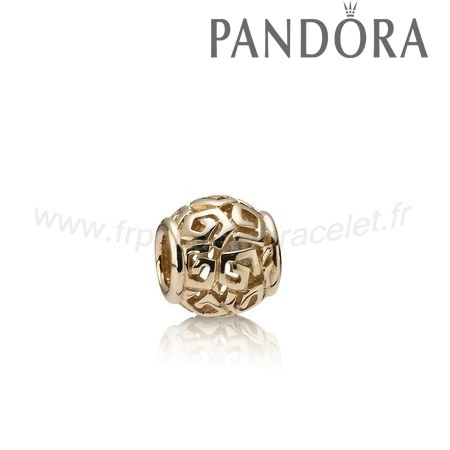 Pandora Soldes Incroyable Charme D'Or 14K