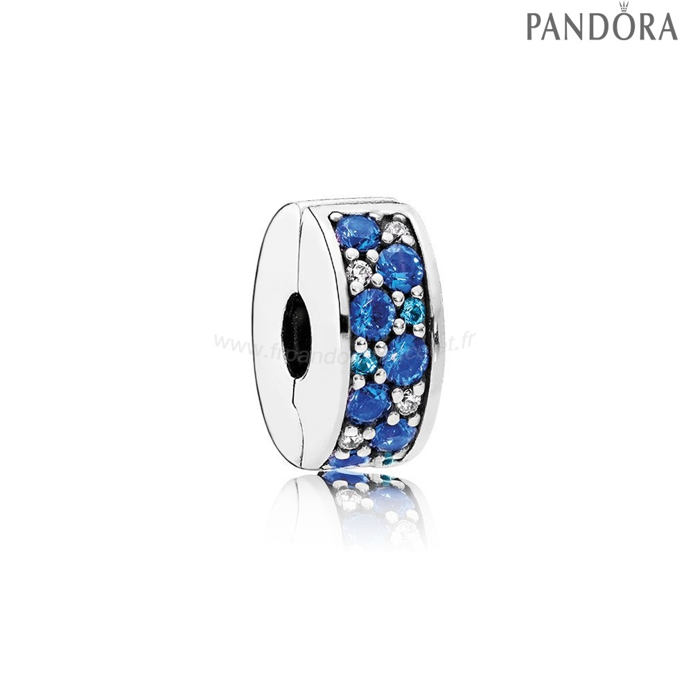 Pandora Soldes Pandora Charms De Couleur Mosaique Brillant Elegance Clip Multi Coloured Crystals Clear Cz