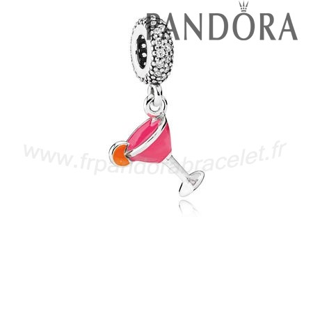 Pandora Soldes Pandora Dangle Charms Cocktail Dangle Charm Mixed Email Clear Cz
