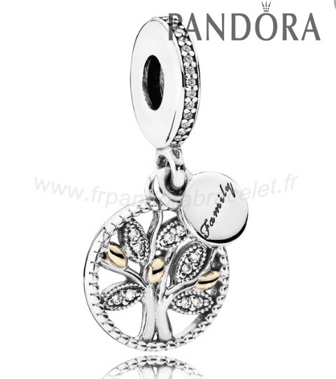Pandora Soldes Pandora Dangle Charms Famille Patrimoine Dangle Charm Clear Cz