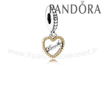Pandora Soldes Pandora Dangle Charms Famille Script Dangle Charm