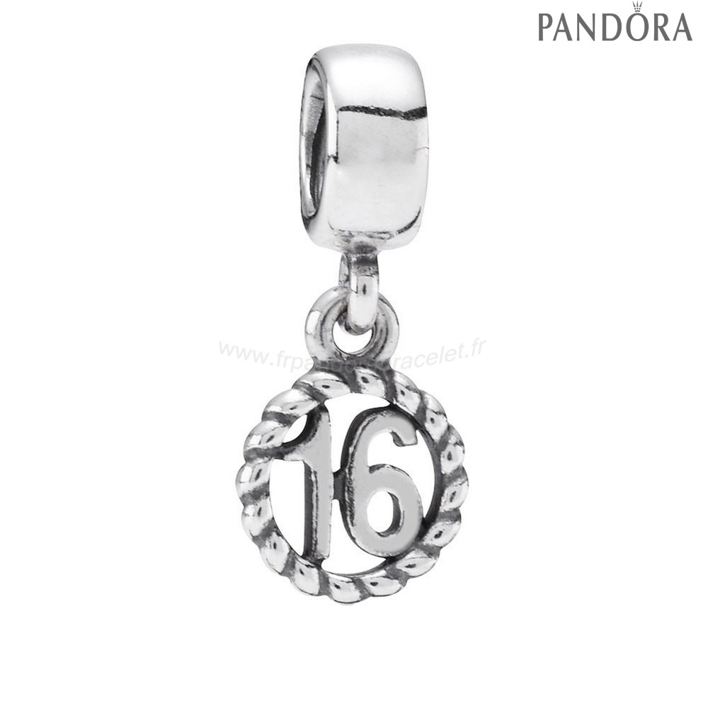 Pandora Soldes Pandora Dangles Sweet 16 Dangle Charme