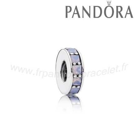 Pandora Soldes Pandora Entretoises Charms Eternity Spacer Opalescent Blanc Crystal