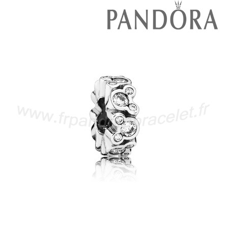 Pandora Soldes Pandora Espaceurs Charms Disney Mickey All Around Spacer Clear Cz