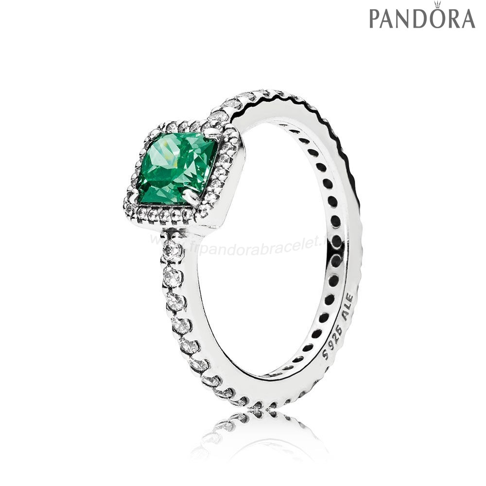 Pandora Soldes Pandora Intemporel Elegance Intemporel Elegance Vert Clear Cz