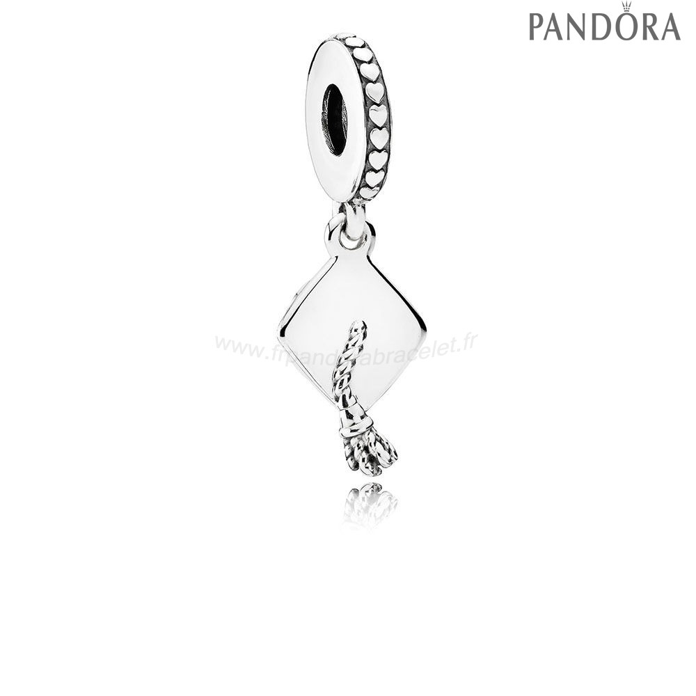 Pandora Soldes Pandora Passions Charms Carriere Aspirations Graduation Dangle Charm